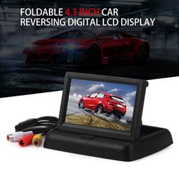 Lcd moniteur d'affichage vidéo à vendre-Moniteurs de voiture de vente chaude 4.3 pouces TFT LCD Affichage de l'écran du moniteur de vue arrière