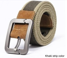 Tactical Belt Men's Military Belts Army Thicken Canvas Tactical Outdoor Waistband Adjustable Hunting Rigger