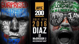 Wholesale CONOR McGREGOR v NATE DIAZ UFC MMA PROMO Art Silk Poster x36inch