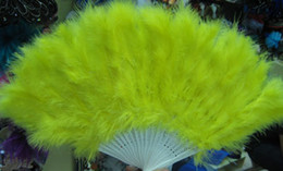 Feather Fan Costume Halloween Party costume party fun HAND Fan 35pc lot