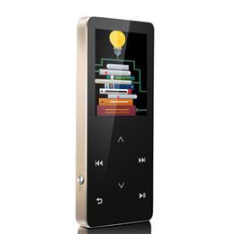 2017 livres vidéo Vente en gros HIFI sans perte Bluetooth lecteur mp3 8 Go écran tactile FM Radio Enregistreur vocal Lecteur vidéo E-book lecteur mp3 2.0 écran WMA abordable livres vidéo