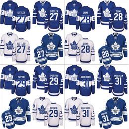 Wholesale 2017 Centennial Classic Men s Toronto Maple Leafs Darryl Sittler Frederik Andersen Felix Potvin Tie Domi Hockey Jerseys