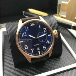 Wholesale AAA s top men s luxury leather belt automatic mechanical watches sapphire waterproof series Little Prince flywheel European and American sty