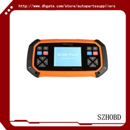 Wholesale OBDSTAR X300 PRO3 X Key Master with Immobiliser Odometer Adjustment EEPROM PIC OBDII Update Online