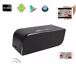 32GB P2P Wifi Pinhole Hidden Alarm Clock Camera 1080P Mini Clock Spy Camera Security & Surveillance Cameras Mini Camcorder Video Recorder