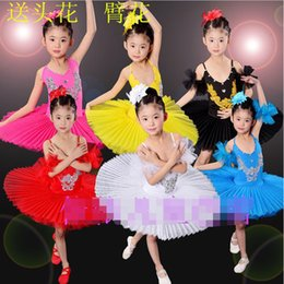 Colros Red White Girls Ballet Ballroom dancing Dress princess dress Party Costume Ballet Dress Kids Tutu Leotard Dancewear Costumes