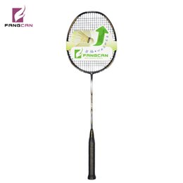 FANGCAN N90-III High-end 100% Graphite Ultralight Woven Competition Prestrung Power 3U Badminton Racket 30lbs for Smash