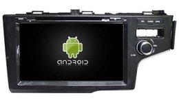 Promotion tuner audio vidéo 4G lite 2GB RAM Android 6.0 quad-core lecteur dvd gps enregistreur magnétique multimédia gps pour Honda Fit 2014 RHD audio audio headunit