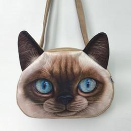 Compra Online Bolsos al por mayor de la honda-Bolsos de hombro al por mayor-uno Bolsa de mensajero de cuero de imitación bolsa de mensajero Bolsa de mensajero de manga larga de gato