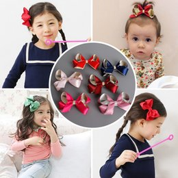 2017 New Girl Hair Bows Ruban Clips de cheveux Barrettes Kids Girls Holiday Gift for Children Accessoires pour cheveux 24pcs / lot à partir de fabricateur