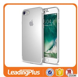 China Manufactory Transparent TPU Material Customized Mobile Phone Case, Wholesale Cell Phone Case For Iphone 7