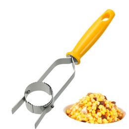 Wholesale 2016 NEW Arrival High Quality Kitchen Necessary Helper Easy Peel One Step Corn Stripper Peeler Remove Corn Separator