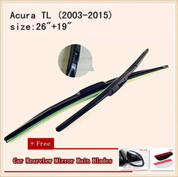High Quality U-type Universal Car Windshield Wiper With Soft Natural Rubber For Acura TL Acura MDX Acura ZDX Acura RLX Acura RLX Hybrid