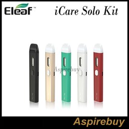 Wholesale Eleaf iCare Solo Kit W mah Battery with ML Internal Tank Three LEDs Indicating Battery Level Tiny and Cute Looking Original