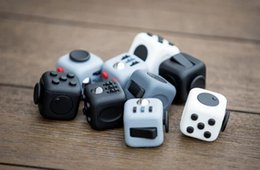 Wholesale 2017 New Fidget cube the world s first American original decompression anxiety Toys Christmas Gift in stock DHL