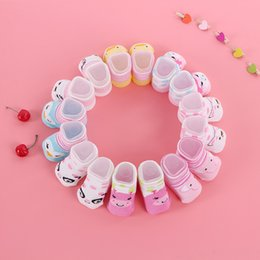 0-6M Mom Favorite Contracted Anmail Style Girl Baby Booties Cute Cotton Socks Breathable Baby Socks More Comfortable And Fashion