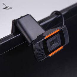 Descuento computadoras portátiles para la venta Hot Sale Fashion HD USB 2.0 Cámara Clip-on de la cámara del webcam 12 megapíxeles con el micrófono incorporado de la absorción sana para el ordenador portátil 51