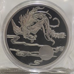 Chinese Shanghai Mint 5oz Silver Coin -phoenix commemorative coins