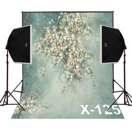 foggy bunch blossoms photo background for newborn camera fotografica digital studio photography backdrops vinyl props baby photos