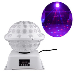 Wholesale DJ Stage Studio Special Lighting Effects RGB Color Changing Rotating LED Magic Lights System Equipment Disco Ball