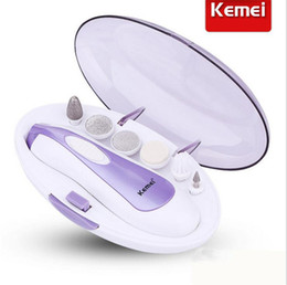 KEMEI Electric nail grinding machine grinding device Manicure Nail Manicure knife tool kit Pedicure for grinding and polishing machine set
