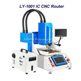 Wholesale Best price LY luxury pack automatic cnc ic removal machine with vacuum cleaner and CCD monitor