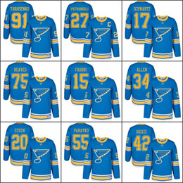 Wholesale 2017 Winter Classic Premier St Louis Blues Men s Alex Pietrangelo Vladimir Tarasenko Jaden Schwartz Backes Stitched Hockey Jerseys