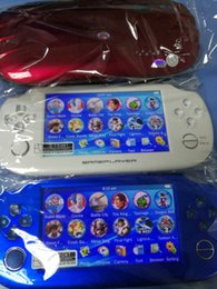 Wholesale Factory Handheld Game Player GB GB MP3 MP4 MP5 Player Video FM Camera Portable Game Console Arcade games