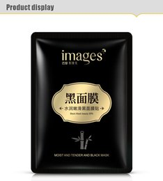 Wholesale IMAGES Water embellish tender Black mask Bamboo charcoal clean It moisturizes Moisturizntrol contractive facial mask pore skin care products