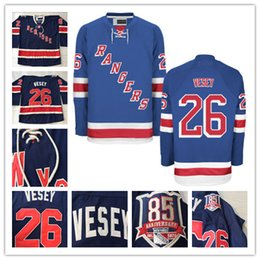 Wholesale New york Rangers Jerseys Holden Oscar Lindberg Jimmy Vesey Mens Hockey Jerseys Name and Number All Stitched Logos