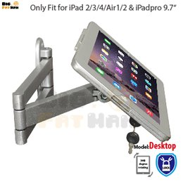tablet mount for iPad tablet display folding retractable holder brace specialized frame housing wall mount stand for ipad air