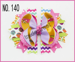 free shipping 65pcs Easter festival hair bows Girl Hair Bows clip