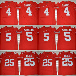 Wholesale 5 Raekwon McMillan Blackout Curtis Samuel J T Barrett Mike Weber Nick Bosa New Style College Football Stitched Jerseys