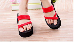 girls sandals platform shoes women slippers eva open toe wedges summer