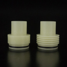 Wide Bore Drip Tip Noctilucent Atty Drip Tips Luminous Tobh atty Mouthpiece For 510 E Cigarette atomizer DHL Free