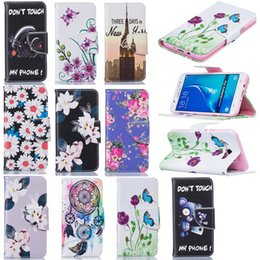 Card Slot Flip Stand Leather phone Cases For samsung galaxy a310 a510 a3 a5 j3 j5 2016 2017 Protective Wallet case Cover