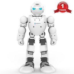 UBTech Humanoid Alpha 1S ( Latest 2017 Version) intelligent Robot Educational white with visible editing software charger pal send as gift
