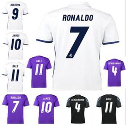 Wholesale Real Madrid jersey Ronaldo Soccer jersey MODRIC BALE KROOS ISCO BENZEMA football shirts Camisa JAMES jersey