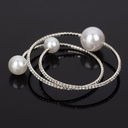 Pearl bracelet female With the crystal The adjustable bracelet Bracelet gift gold \silver 2017 for women B045