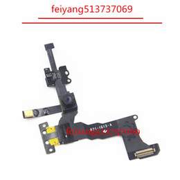 10pcs Original Proximity Sensor Light Flex Cable with Front Face Camera For iPhone 5S Front Camera Assembly Flex Cable
