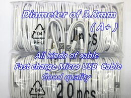 original quality A+ 1M 3ft 1.5M 5ft Micro USB cable Charger Cable for Samsung Galaxy S6 S7 S8 Sync Data Adapter for Cell Phones Universal