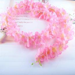 Simulation of Hydrangea vine Loft decorated with flowers Wedding Flowers