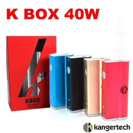 High clone Kanger Kbox 40W box mod Variable Wattage Sub Ohm Vapor mod 5 colors VS sub box mini ipv4 for Subtank Mini