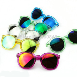 2016 new fashion childrens sunglasses kids girls summer glasses baby Accessories colors mixed baby toys