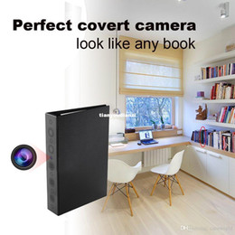 Newest Spy Camera Full HD 1080P PIR Motion Detection IR Night Vision Book Camera Audio Video Recorder Hidden DVR Mini DV w  8000mAH Battery