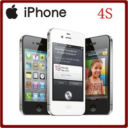 Original Refurbished Apple iPhone 4S Dual Core 8MP 16GB 32GB ROM IOS WIFI 3G 3.5``Smartphone