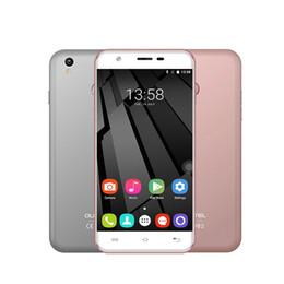 Promotion écran tactile google 4G LTE Oukitel U7 Plus 2Go 16GB Touch ID Scanner d'empreintes digitales 64 bits Quad Core MTK6737 Android 6.0 Marshmallow 5.5 pouces HD écran Smartphone