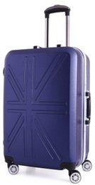 Wholesale gch01 Boarding luggage custom made box hard box PC universal wheel suitcases mizi aluminum frame pull rod box
