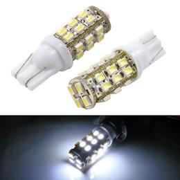 LEEWA 50pcs Super White T10 194 W5W 1210 28LED 28SMD Wedge Car LED Light Bulbs Door Lighting #3691