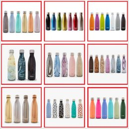 Wholesale Best quality colors oz ml Swell Men s Large Stainless Steel Bottle Vacuum Flask Cup S well Sports bicycle water Bottles